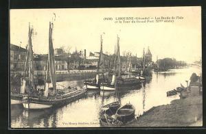AK Libourne, Les Bords de l`Isle et la Tour du Grand Port