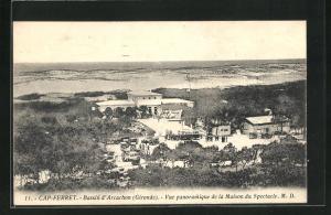 AK Arcachon, Vue panoramique de la Maison du Spectacle