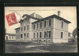 AK Libourne, Pavillon principal du nouvel Hopital