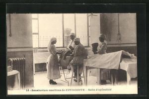 AK Zuydcoote, Sanatorium maritime, Salle d'operation
