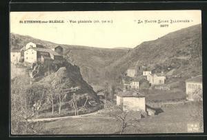 AK St-Etienne-sur-Blesle, Vue gènèrale
