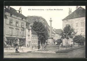 AK Salins-du-Jura, La Place Max Buchon