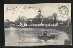AK Lons-le-Saunier-les-Bains, Le Lac-l` Etablissement et le Casino