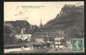 AK Salins-les-Bains, Villa des Carmes, Entrèe de la Ville