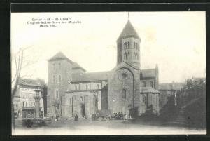 AK Mauriac, L` Eglise Notre-Dame des Miracles