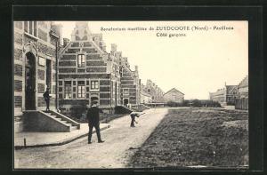 AK Zuydcoote, Sanatorium maritime-Pavillons Cote garcons