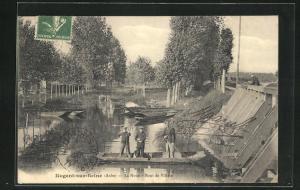 AK Nogent-sur-Seine, La Noue-Bout de Villain
