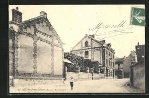 AK Nogent-sur-Seine, Les Ecoles