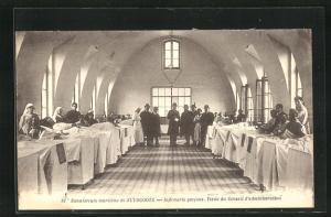 AK Zuydcoote, Sanatorium maritime - Infirmerie yarcons, Visite du Conseil d`administration