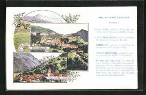 AK Briancon, Ortsansicht, Mont Genievre