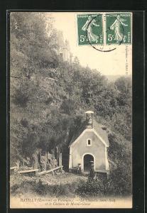 AK Batilly, La Chapelle Saint-Roch et le Chateau de Mesnil-Glaise