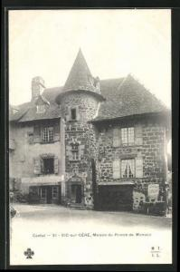 AK Vic-sur-Cère, Maison du Prince de Monaco