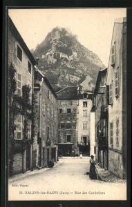 AK Salins-les-Bains, Rue des Cordeliers