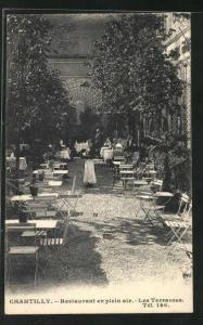 AK Chantilly, Restaurant en plein air, Les Terrasses