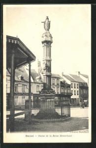 AK Bavai, Statue de la Reine Brunehaut