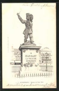 AK Dunkerque, Statue de Jean Bart