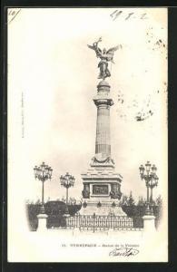 AK Dunkerque, Statue de la Victoire