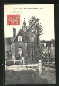 AK Haras-du-Pin, La grande grille en fer forgè