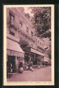 AK Luchon, Grand Hotel Cave, 12 Allees d`Etigny, Dernier confort