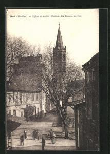 AK Noe, Eglise et ancien Chateau des Comtes