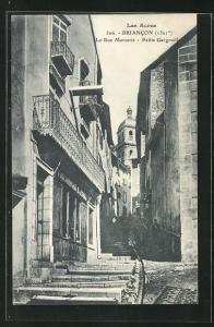 AK Briancon, La Rue Mercerie, Petite Gargouille