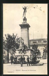 AK Troyes, Monument des Bienfaiteurs