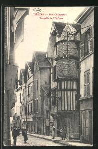 AK Troyes, Rue Champeaux, Tourelle de l`Orfevre
