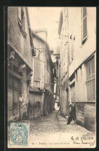 AK Troyes, La ruelle des Chats