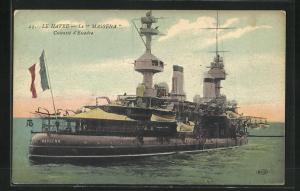 AK Masséna, Cuirassé d`Escadre, französisches Kriegsschiff