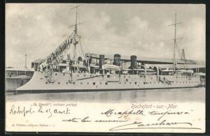 AK Rochefort-sur-Mer, Croiseur protégé Davout