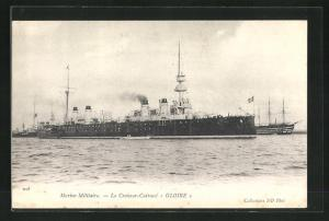 AK Le Croiseur-Cuirassé Gloire, Marine Militaire