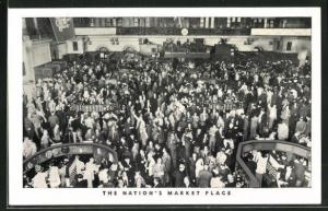 AK New York, NY, The Nation`s Market Place, New York Stock Exchange