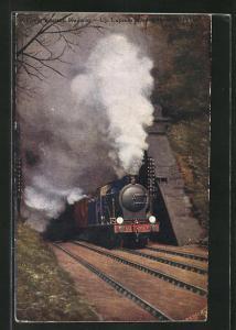 AK Ipswich, Great Eastern Railway, Up Express leaving Ipswich Tunnel