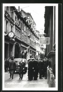 AK London, the Stock Exchange, Throgmorton Street