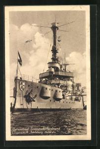AK Timmendorferstrand, Linienschiff Schleswig-Holstein der Kriegsmarine