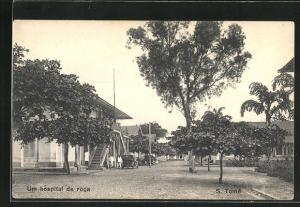AK S. Tome, Um hospital de roca