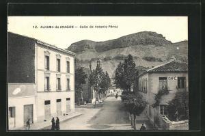 AK Alhama de Aragon, Calle de Antonio Perez