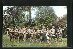 AK Samoa, Dance of Samoan Head Hunters