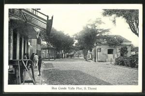 AK S. Thome, Rua Conde Valle Flor