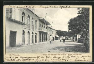 AK S. Thome, Praca do Governador Mello, Uma rua lateral