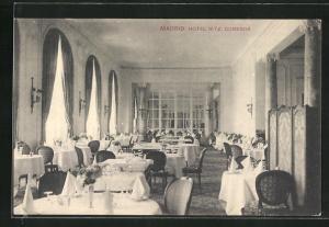 AK Madrid, Hotel Ritz, Comedor