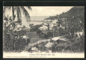AK Levuka / Fiji, View from Mission Hill