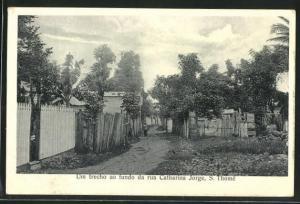 AK S. Thomé, Um trecho ao fundo da Rua Catharina Jorge