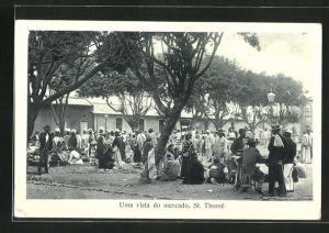AK Sao Thomé, Uma vista do mercado