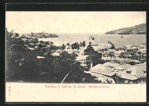 AK Castries, Harbour and Town