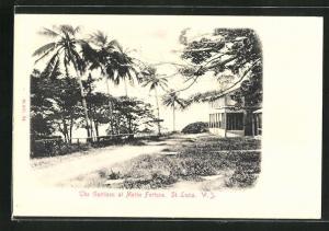 AK St. Lucia, The Garrison at Morne Fortune