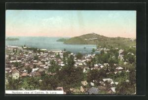 AK Castries, Northern View of the Town