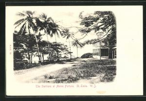 AK St. Lucia / W. J., The Garrison at Morne Fortune