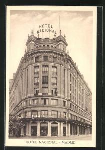 AK Madrid, Hotel Nacional