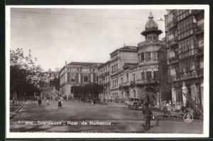 AK Santander, Plaza de Numancia